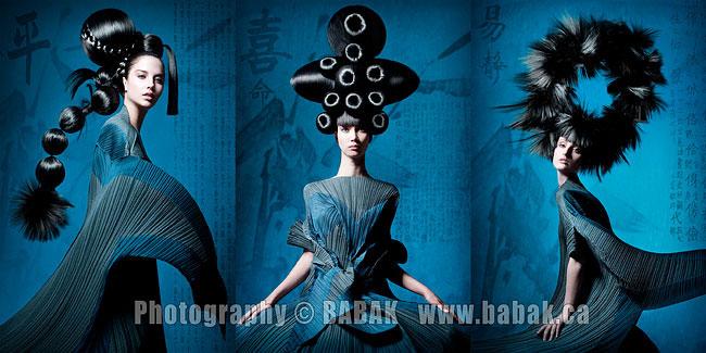 Avant garde hair-NAHA-Babak