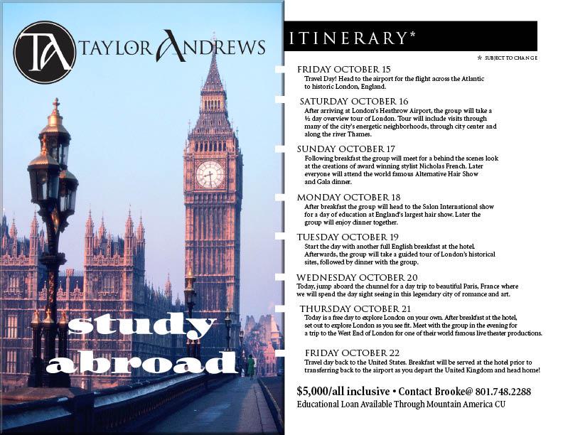 London study flyer